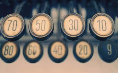 Správné psaní číslovek